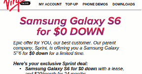 Sprint Luring Virgin Mobile Customers With Galaxy S6 | Prepaid Phone
