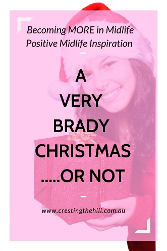 "Do you ever feel a little disappointed in how your Christmas looks compared to other families? Maybe you're suffering from ""A very Brady Christmas"" problem. #Christmas #BradyBunch"