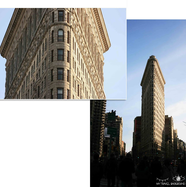 My Travel Background : Une semaine à New York - Flatiron Building