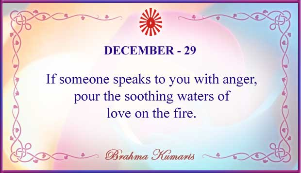 Thought For The Day December 29