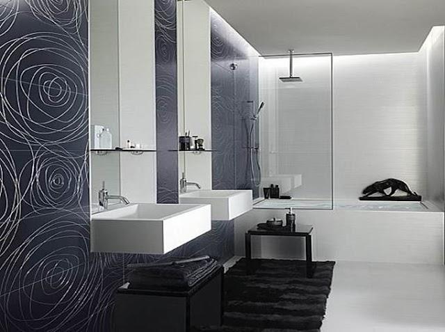 Thiết kế phòng tắm tiêu chuẩn.