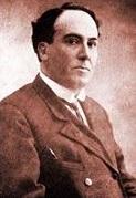 Imagen de Antonio Machado con saco y corbata