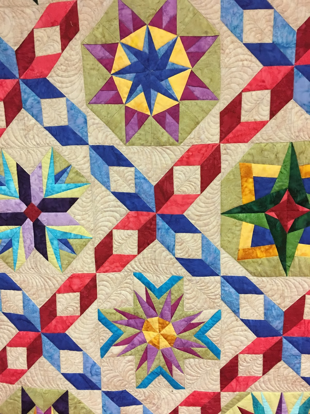 The Quilt Rambler : quilting with the stars - Adamdwight.com