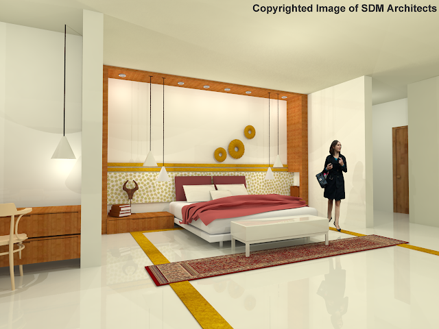 Interior Views for Hotel Bedroom 2