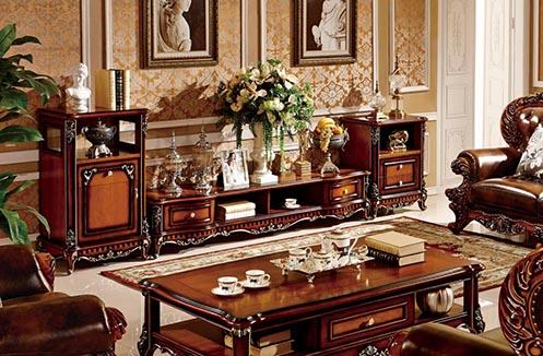 Bí quyết chọn kệ tivi cổ điển sang trọng phù hợp với phòng khách
