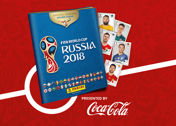 Δωρεάν ηλεκτρονικά αυτοκόλλητα της Panini για το Παγκόσμιο Κύπελλο Ποδοσφαίρου 2018