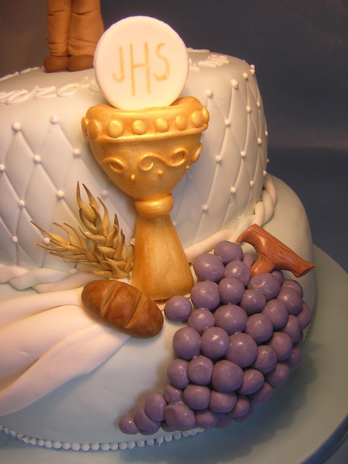 Preferenza Le torte creative di Claudia Prati: Torta comunione Riccardo KI11