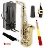 Legacy AS750 Student / Intermediate Alto Saxophone with Case and Accessories