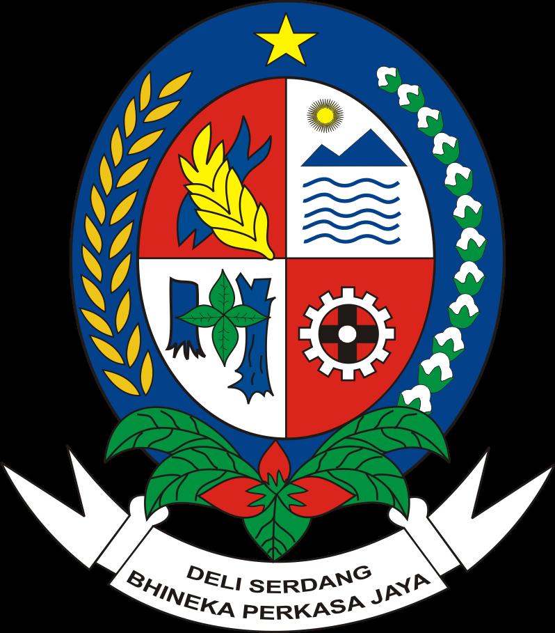 Logo Kabupaten Deli Serdang Kumpulan Logo Lambang Indonesia