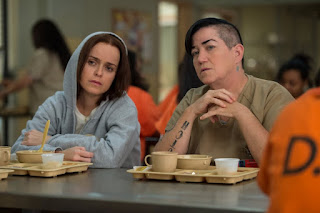 Lea DeLaria and Taryn Manning in Orange Is the New Black