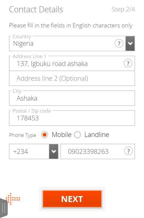 open Payoneer account in Nigeria