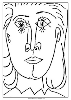 portrait of dora maar adults printable pablo picasso coloring pages