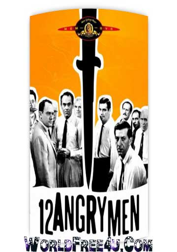 Poster Of 12 Angry Men (1957) Full English Movie Watch Online Free Download At worldfree4u.com