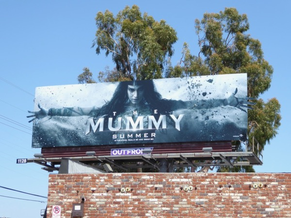Sofia Boutella Mummy special extension billboard