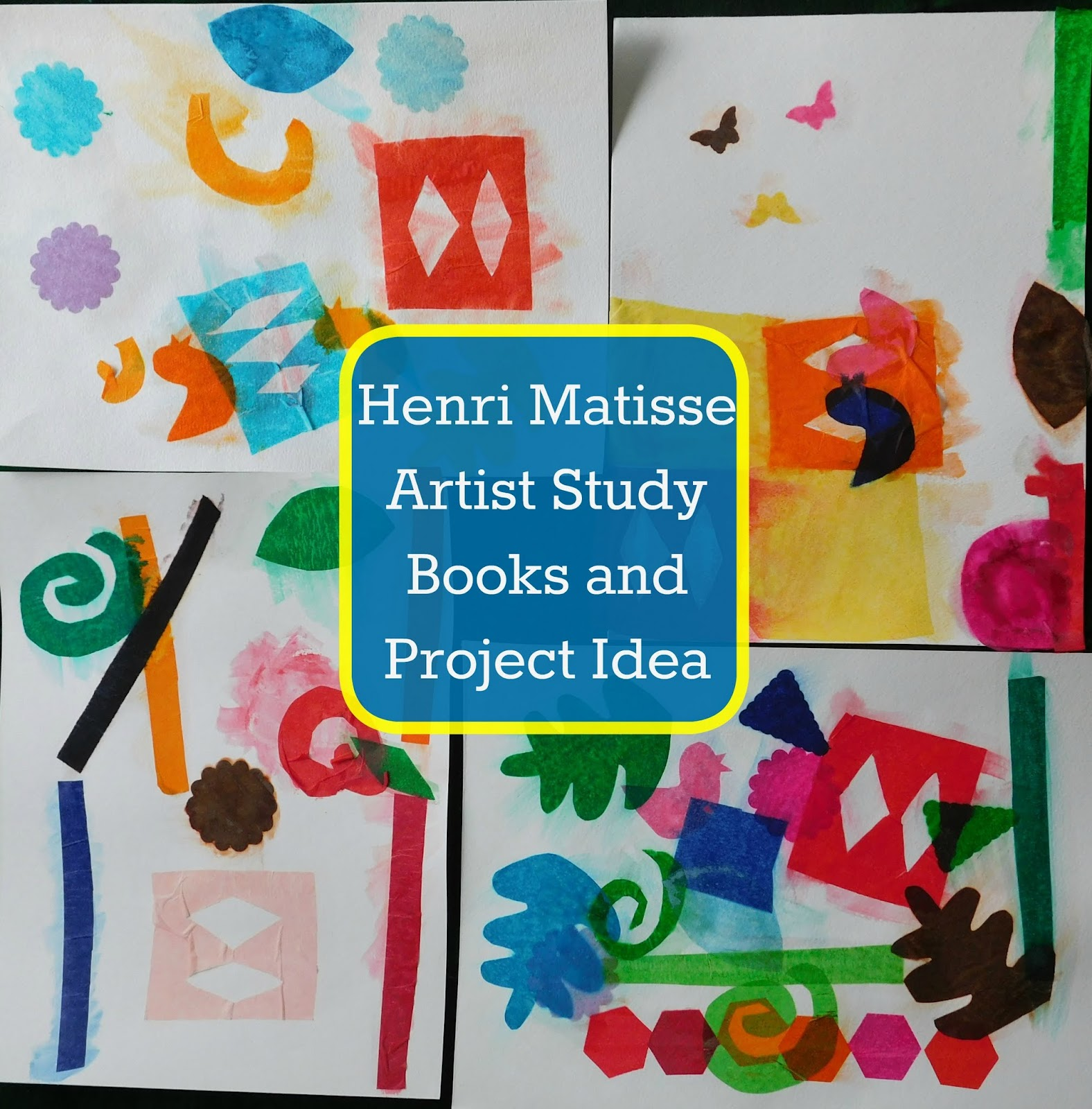 our unschooling journey through life art project 68 art books