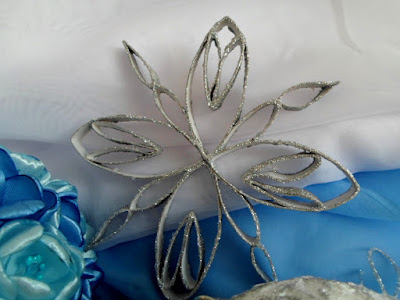 Ozdoby świąteczne na Boże Narodzenie, DIY, śnieżynki gwiazdki z papieru toaletowego