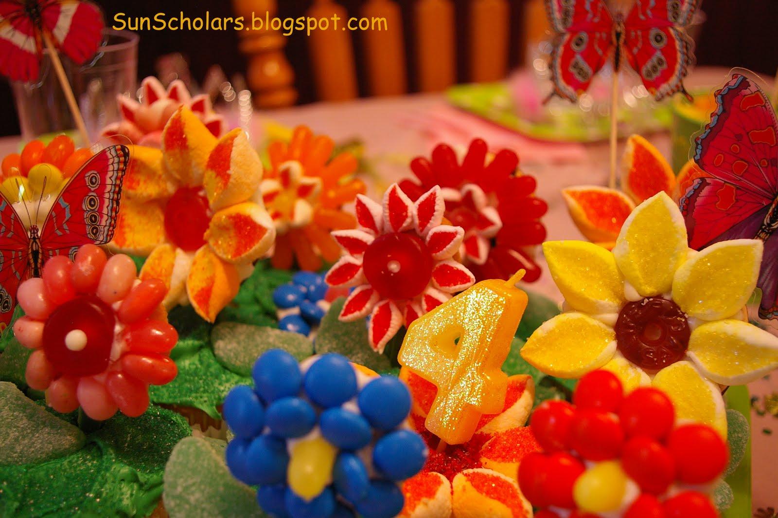 Flower garden birthday cake fathers day 2011 flower garden birthday cake izmirmasajfo