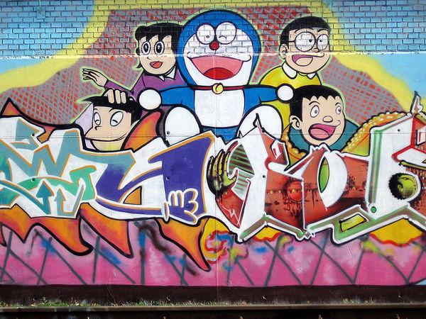 Doraemon, Keabadian, Dan Penetrasi Bangsa Jepang