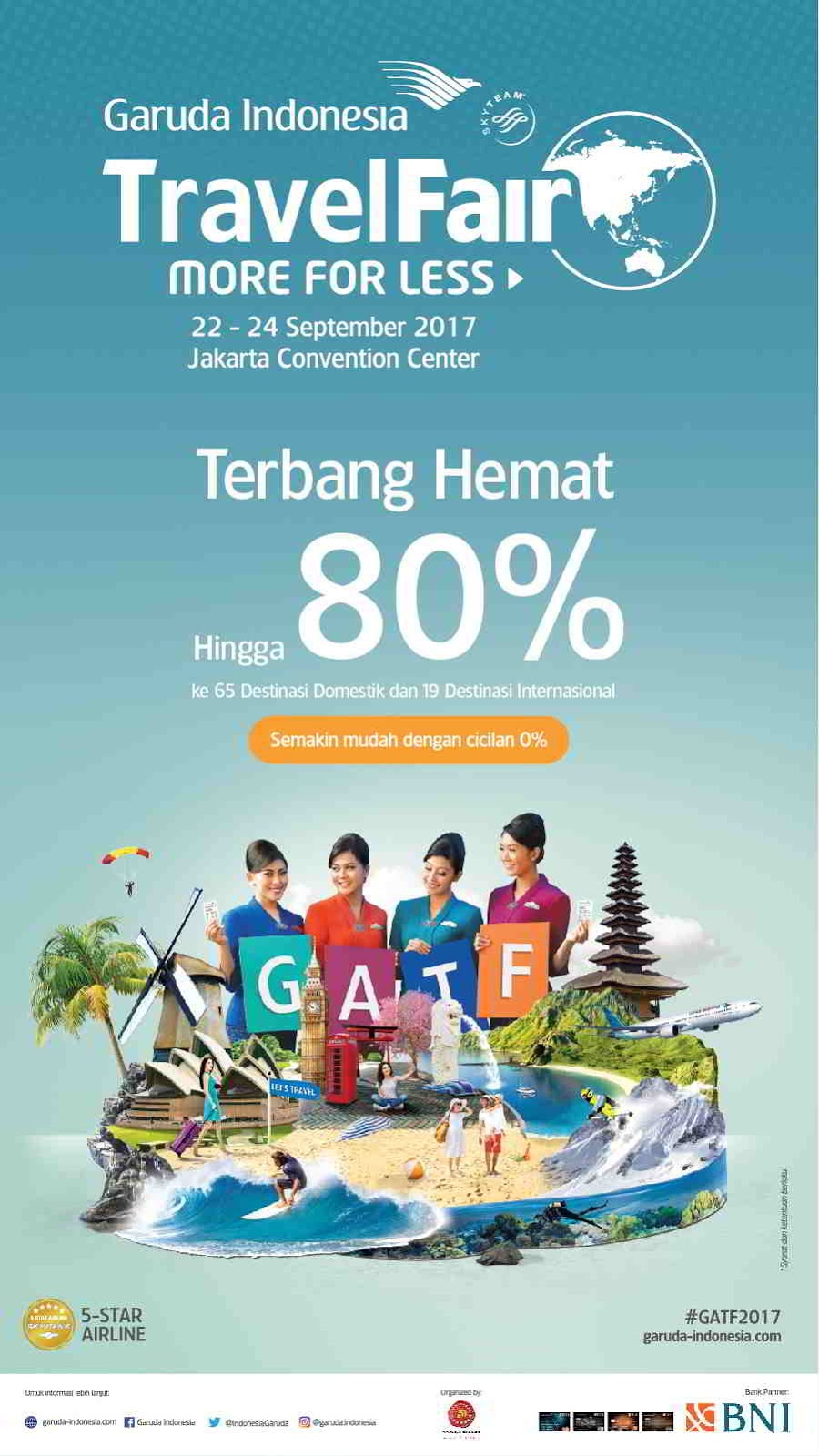 Garuda Travel Fair 2017 | Best Deals