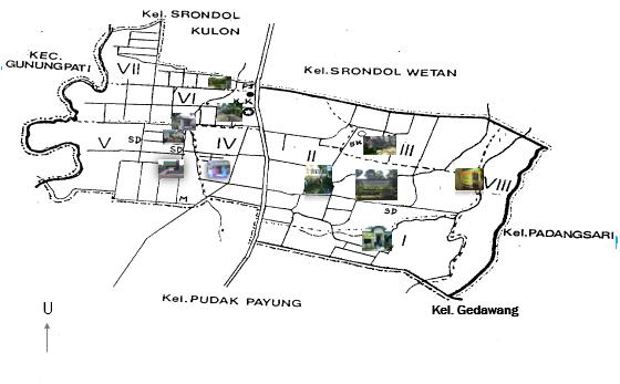 Peta Wilayah Kelurahan Banyumanik | Kelurahan Banyumanik
