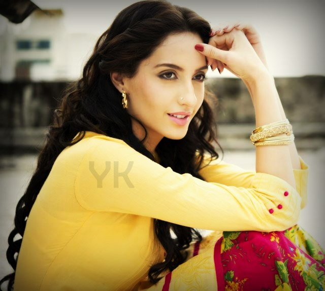Nora Fatehi in beautiful dress