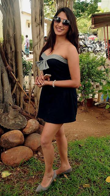Kesha Khambhati Looks Stunning in Black Transparent saree   gorgeous face expression. Navel Queens