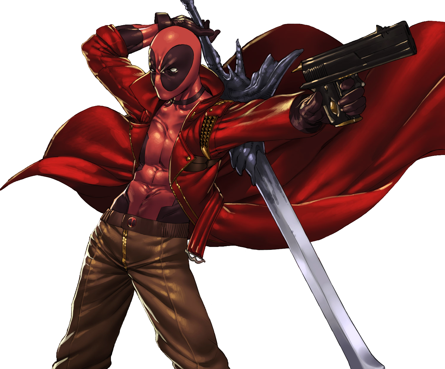 RENDER Deadpool