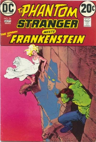 Phantom Stranger #26, Frankenstein, Mike Kaluta