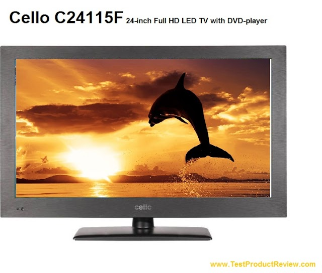 Cello C24115F 24-inch Full HD LED TV with DVD-player