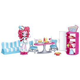 My Little Pony Equestria Girls Minis Mall Collection Sweet Snacks Café Pinkie Pie Figure