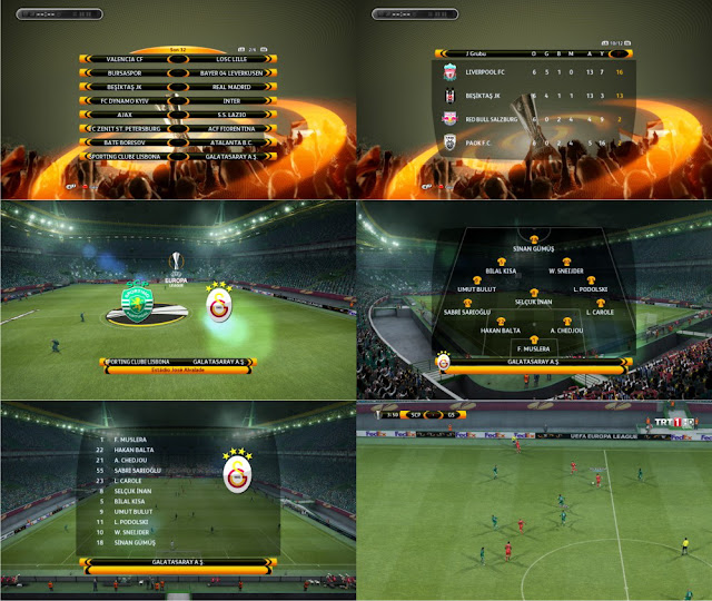 Pes 2013 UCL & UEL 2016 Graphic V2 by A. Deniz
