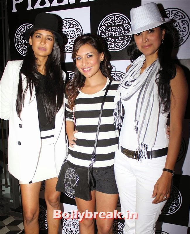 Carol Gracias, Miss Malini, and Reshma Bombaywalla, Indian page 3 Party PHotos