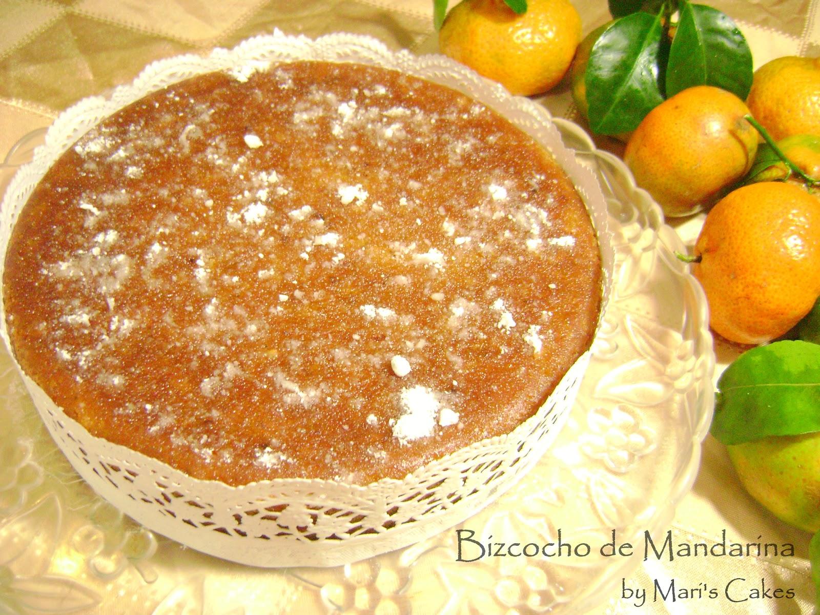 Mari S Cakes Bizcocho De Mandarina