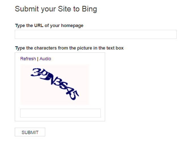 Submitting a Blog to Google and Bing Search Engines