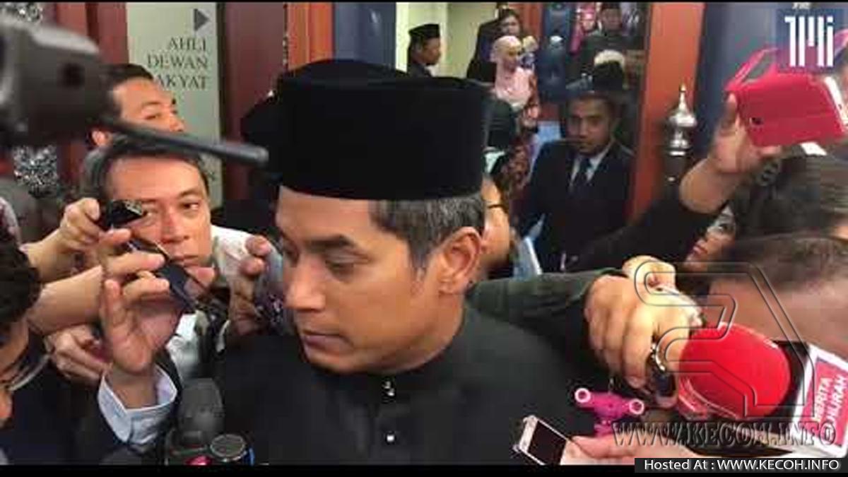 Najib Mahu KJ Dan Anifah Jelaskan Tindakan Enggan Keluar Dewan