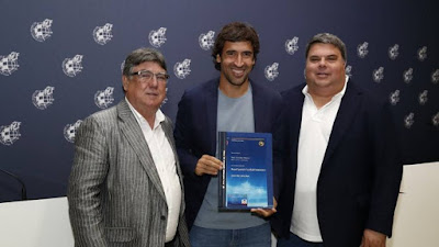 Raúl ya tiene Licencia UEFA Pro