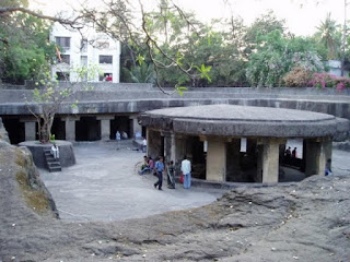 Tourist Place At Pune Pataleshwar Cave Temple