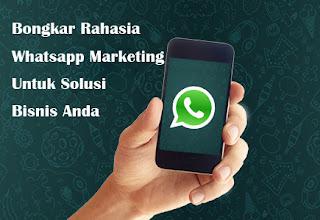 rahasia jualan menggunakan Whatsapp
