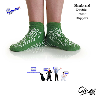 Single and Double-Tread Slippers