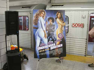 Undercover Brother Filmed In The TTC ??