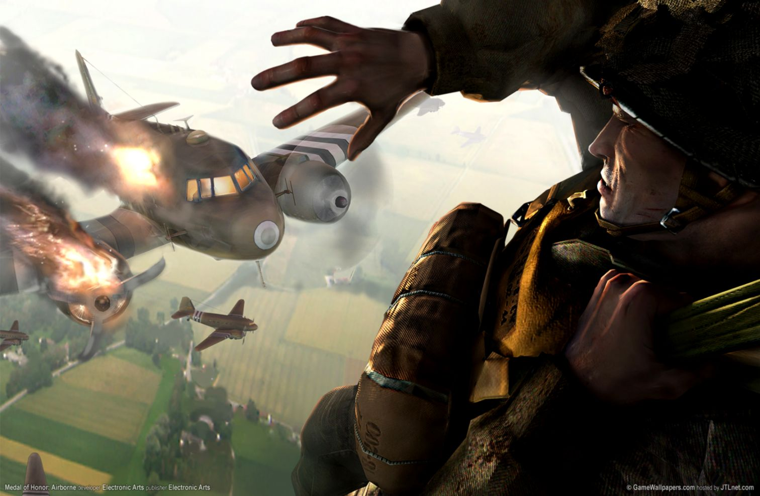 Medal Of Honor Airborne Ea Games Wallpapers | Wallpapers Space
