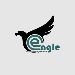 Eagle Abstract Logo Template Free Download Vector CDR, AI, EPS and PNG Formats
