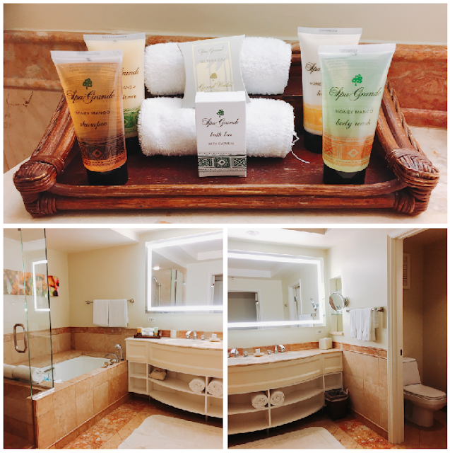 Grand Wailea bathroom and soaps
