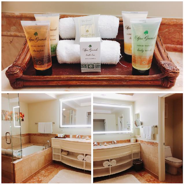 Grand Wailea bathroom and soaps
