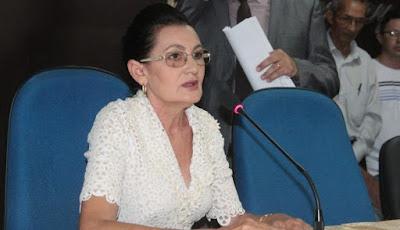 Resultado de imagem para Presidente da Camara vereadora Vera Lúcia Chapadinha