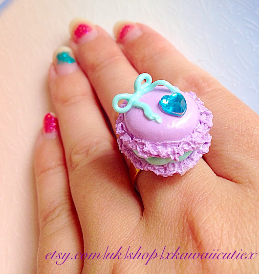 Sweet Enough Macaron Ring
