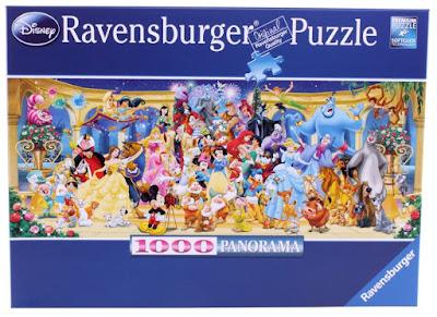 Disneypuzzel met groepsfoto