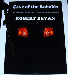 Portada del libro Cave of the Kobolds, de Robert Bevan