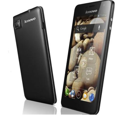 Lenovo K900: 2GHz Intel Atom processor