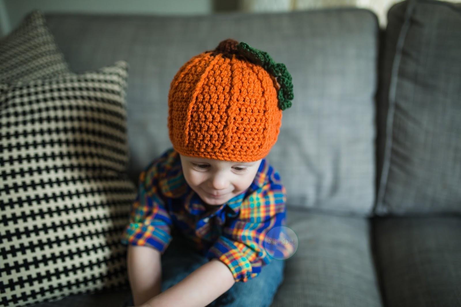 Children's Crochet Pumpkin Hat, Crochet Beanie, Baby Pumpkin Hat, Pumpkin Beanie, Infant, Toddler, Halloween, Costume, Fall, Photo Prop, Girl, Boy